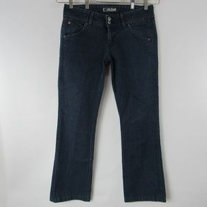 Hudson Jeans Style W170R Boot Cut Low Rise Striped